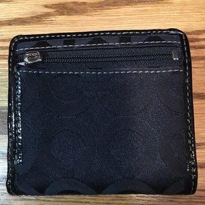 Coach Bags - Small Black Coach Wallet